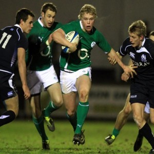 Nevin Spence (1990-2012). Photo: Courtesy irishrugby.ie