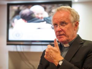 Bishop-Kieran-Conry-at-a-press-conference-in-2013-300x225
