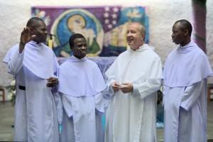 Br McSimon Azenda, Br Leonard Derbie, Br Martin Kenneally, Congregation Leader, and Br Sebastian Dery.