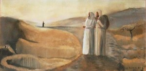 'Road to Emmaus' by John Dunne