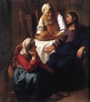 Vermeer's 'Christ in the house of Martha and Mary'