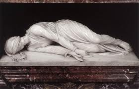 St Cecilia was buried in the Catecombs of St Calistas.