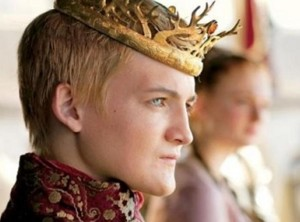 Jack Gleeson as King Joffrey Baratheon in Game of Thrones.