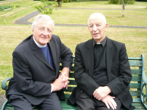 Methodist Minister, Rev Harold Goode, with whom Fr Alec Reid oversaw the decommissioning of some of the last weapons used in the Troubles.