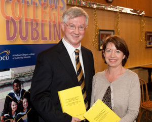 Dr Michael O'Sullivan SJ and Professor Linda Hogan