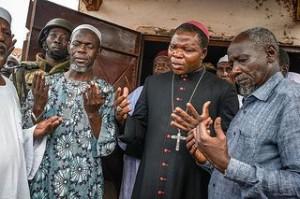 Archbishop  Dieudonné Nzapalainga of Bangu