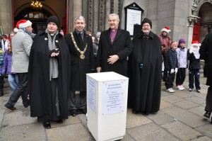 Launch of Black Santa Sit-Out Appeal - 16.12.11