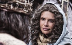 Roma Downey plays Mary, the Mother of Jesus