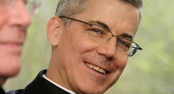 Papal Nuncio Archbishop Charles Brown.