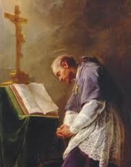 Francis reading