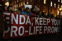 Keep your pro life promise