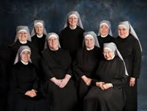 A group of Little Sisters of the Poor