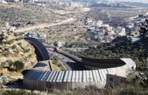 big wall Israel