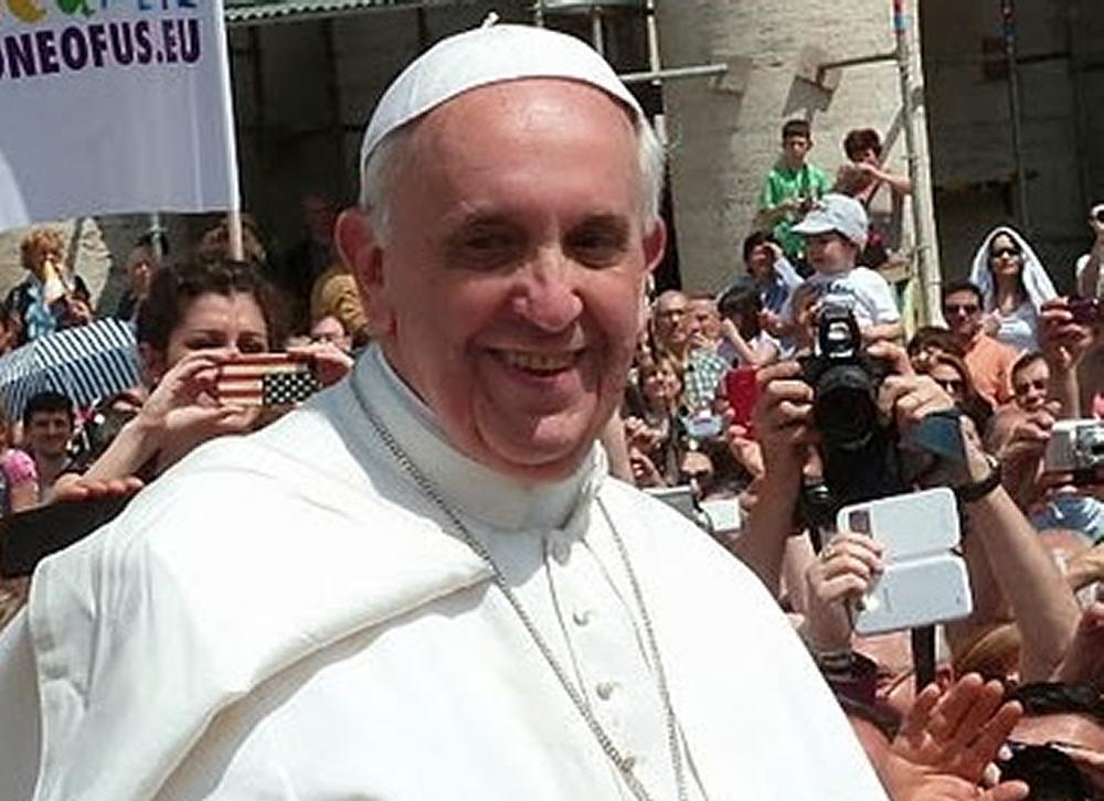 Pope and people