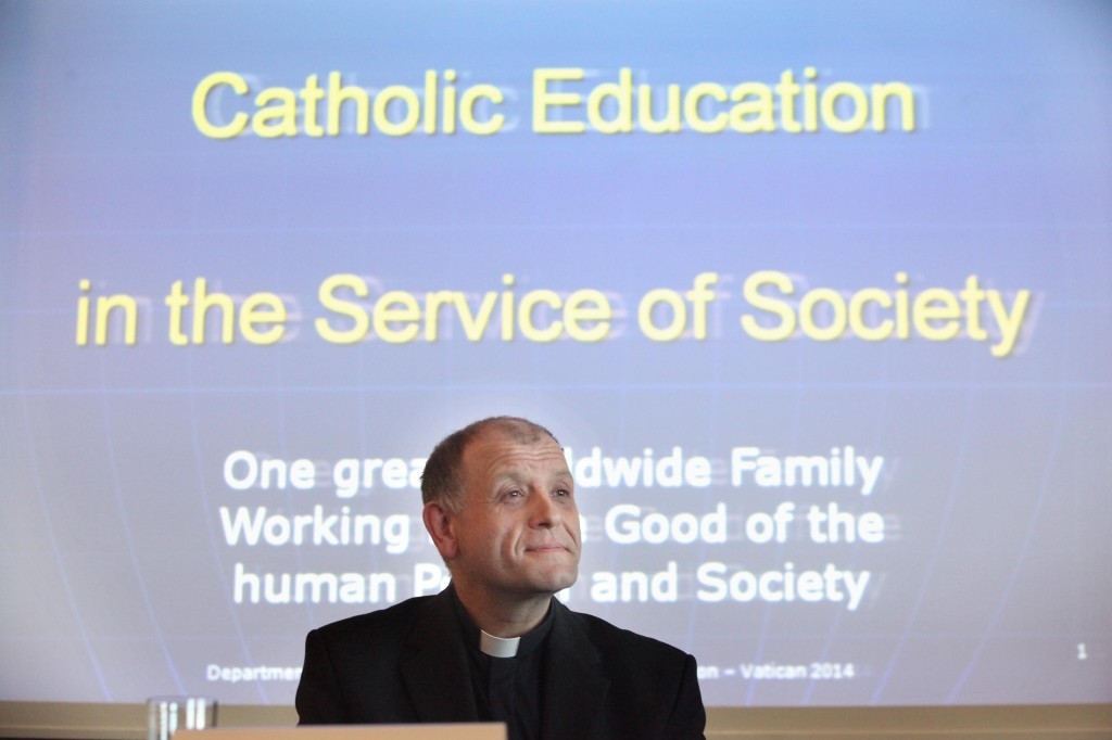 Fr Friedrich Bechina, the Holy See's Undersecretary of the Congregation for Catholic Education. Photo: John McElroy