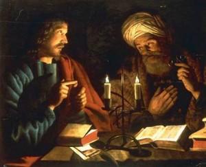 Jesus & Nicodemus