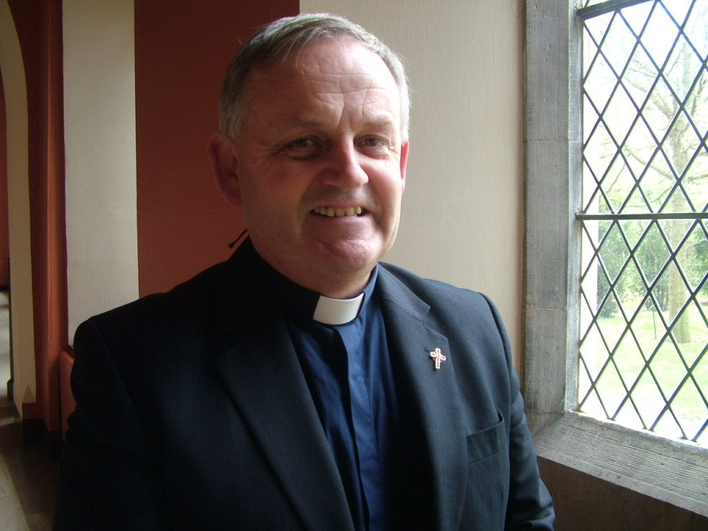Mgr Hugh Connolly, President St Patrick's College Maynooth