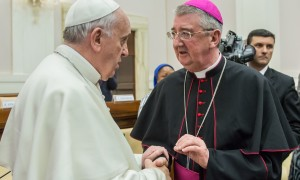 2014-04-10 Archbishop Martin and Pope Francis