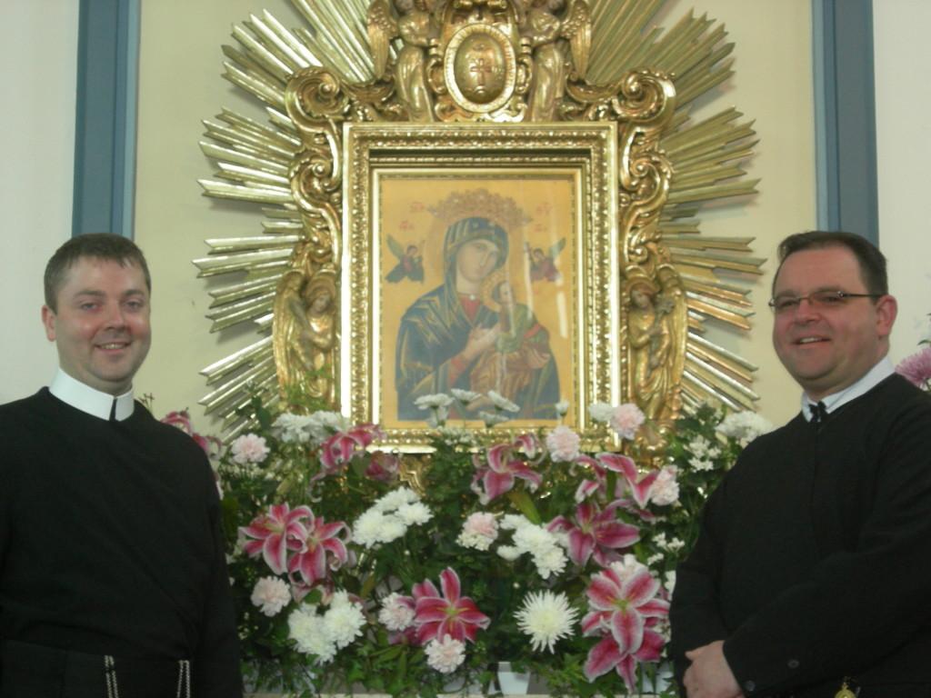 Fr Sean Duggan CSsR (l)