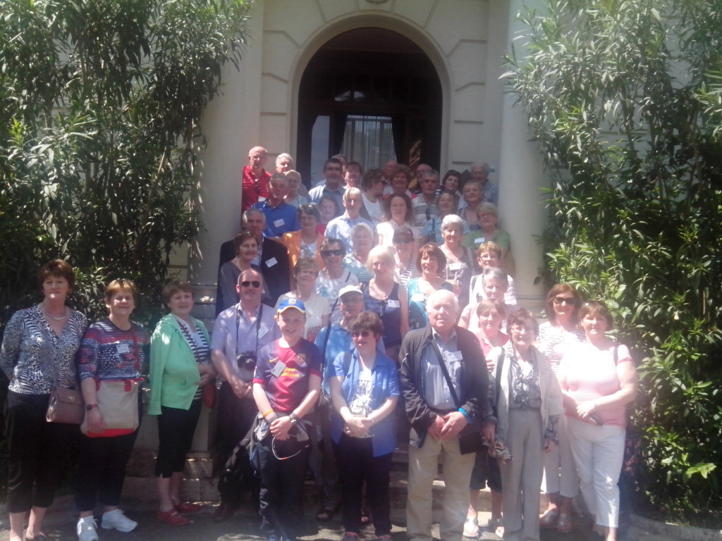 Pilgrims from the Diocese of Killaloe who attended the canonisations in Rome.