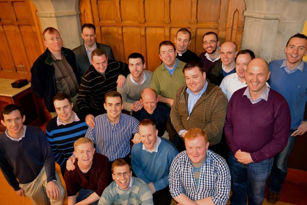 Maynooth seminarians.
