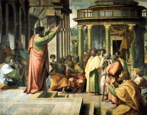 Peter preaches Jesus