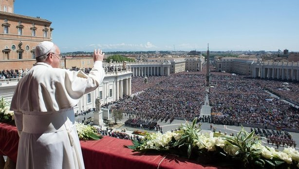 Pope Francis Easter 2014