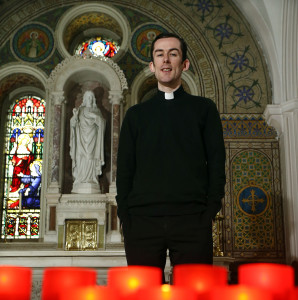 Fr Thomas McHugh who features in BBC Northern Ireland's new series 'City of Faith' beginning on BBC One Northern Ireland on Monday, May 26 at 10.40pm.