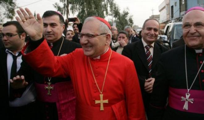 Patriarch Louis Raphaël I Sako of Baghdad.