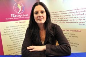 Sarah Benson, CEO Ruhama