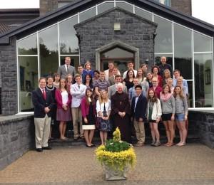 Participants at St Columcille Institute 2013