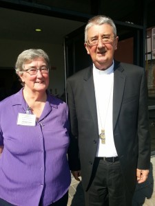 Archbishop Diarmuid Martin and Sr Bridget Dunne, Chairperson of the National Charismatic Renewal Conference