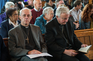 Cardinal Vincent Nichols and Archbishop Justin Welby.