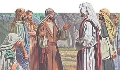 Jesua questions peter