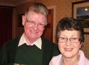 Joe and Áine Clayton