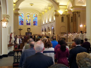 Mass for persecuted Christians