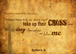 take up cross