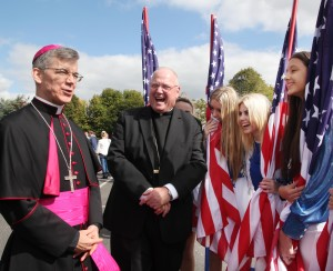CARDINAL DOLAN LEADS CELEBRATION IN MULLINGAR
