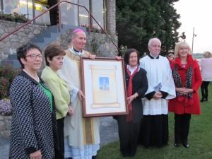 Global Rosary Relay Award 2014.