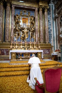 Pope Francis - St Mary Major