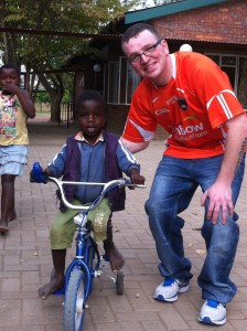 Kevin in South Africa