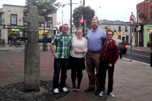 Kevin, Clare, Fr Alan and Henry