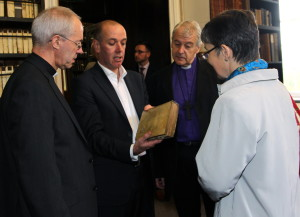 Archbishop of Canterbury in Marsh's Library