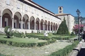 Bobbio in Italy, St Columbanus' last foundation.