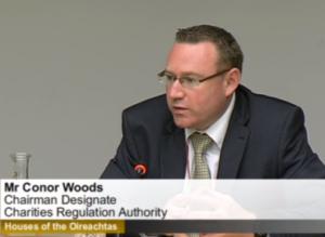 Conor Woods - charities regulator
