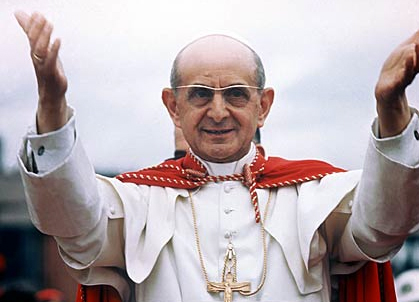 it was forty years ago today august 6 1978 pope paul vi dead at