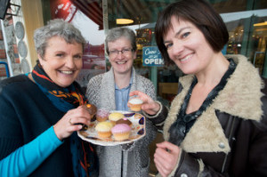 Pictured at the launch of the Dominican Sisters' Alzheimers Cafe, Cabra was Fair City star Rose Henderson (right) with Sr Edel Murphy, OP, (centre) and Sinead Grennan, CEO Sonas APC. The new Alzeimhers Cafe will be hosted by the Dominican Sisters on their campus in Cabra and will take place on the first Thursday of the month from 7pm-9pm for people with dementia and their families and carers.