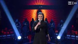 An Italian Ursuline singing competition winning nun