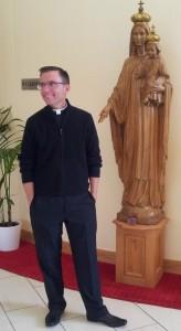 Fr Robert Reed in Avila