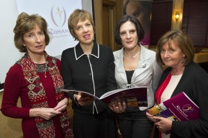LtoR Gerardine Rowley, Policy & Communications Manager, Ruhama, Senator Ivana Bacik, Sarah Benson, CEO and Valerie Judge, Chairperson, Ruhama. Picture: Maura Hickey